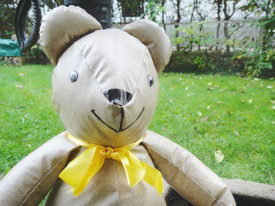 Teddybär selbstgenäht