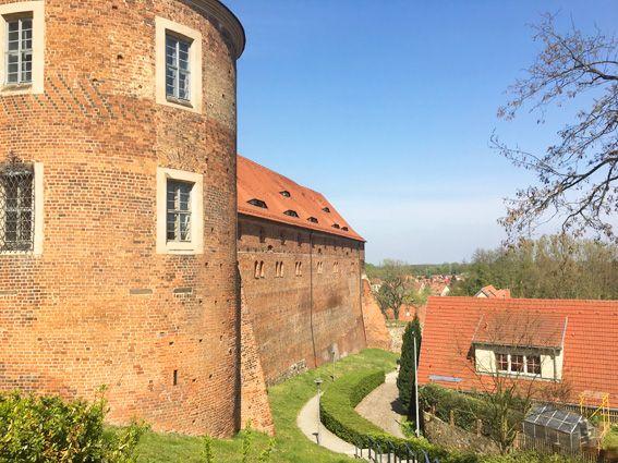 Wachstuch on Tour in Bad Belzig - Burg Eisenhardt