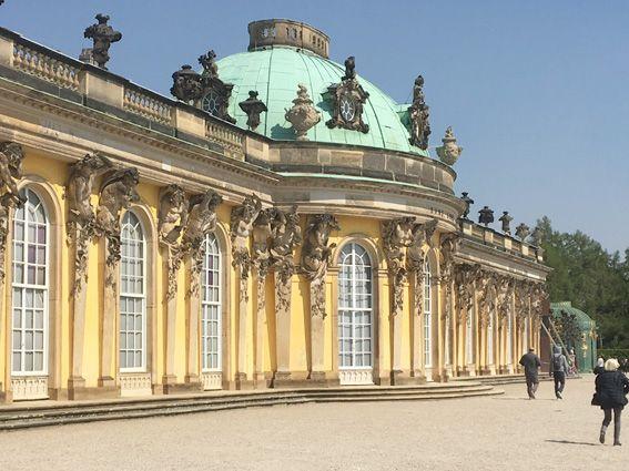 Wachstuch on Tour - Potsdam - Park Sanssouci