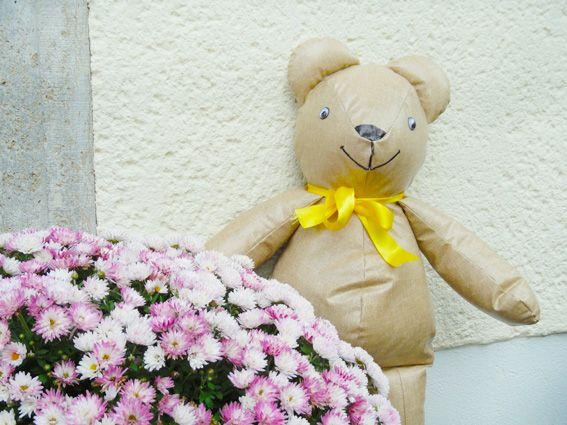 Bastelidee Teddy oder Bär