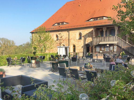 Wachstuch on Tour - Bad Belzig - Burg Eisenhard - Innenhof