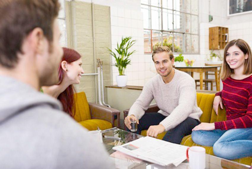 Gemeinsam statt einsam - Wohngemeinschaft mit Rückzugsort