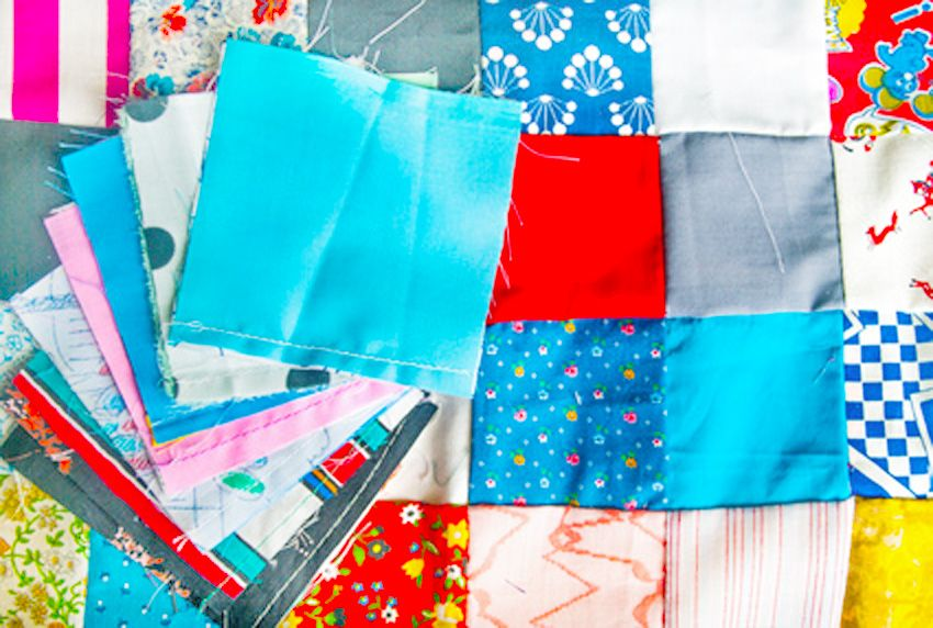 Jubelis patchwork tischdecken selber n hen - Patchwork ideen ...
